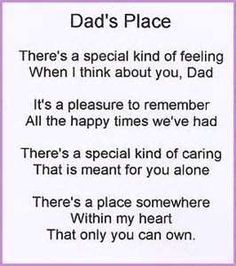 fathers day poems from us