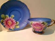 Vintage DAMAGED Hand Painted Occupied Japan Tea by TheDaintyBullet, $12.00