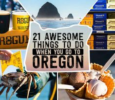 21 Awesome Things To Do When You Go To Oregon Got a long weekend to explore Portland and the Oregon Coast? Here's a step-by-step guide from a Great Northwest native (me) who's sampled a lot of what Oregon has to offer. Oregon Vacation, Oregon Road Trip, Oregon Trail, Road Trips, Oregon Camping, Oregon Coast Roadtrip, Oregon Usa, Portland Oregon, Newport Oregon