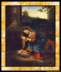 The Adoration of the Child by Antonio da Correggio