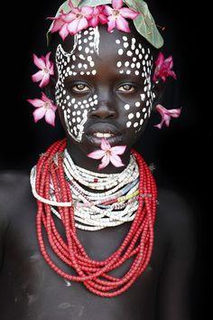 Faces of Omo Delta, Ethiopia