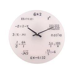 Relógio de Parede Cálculos