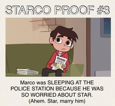 MARCO YOU ARE SO ADORABLE!!!   star vs the forces of evil Credit @livieblue