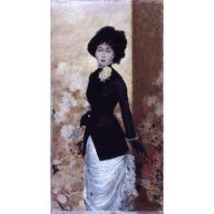 Female Figure (Figura Di Donna) Canvas Art - (18 x 24)
