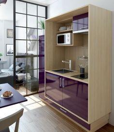 le charme d'une cuisine d'antan grâce aux couleurs provençales et