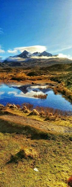 Sligachan , Isle of Skye - wow! I've actually experienced that same view - one of the most gorgeoous places in Scotland!!