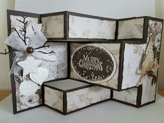 Swing Card, Box, Card Ideas, Christmas Cards, Card Making, Merry, Tags, Frame, Inspiration