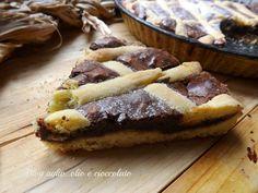 Crostata al Cioccolato Morbida sia la frolla che il cioccolato e anche il giorno dopo!!! Ma il trucchetto c'è!!