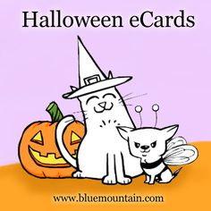 Sweet, spooky, or scarifyingly silly, Blue Mountain has a Halloween eCard for everybody!