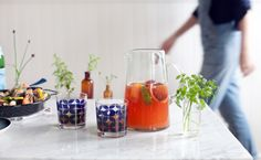 Sangria with Txakoli and Blood Orange by @Aran Goyoaga | @west elm