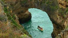 PORTUGAL: ponta da piedade (Lagos) & praia zavial (Algarve) (HD-video)