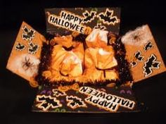 Ideas for a Halloween pkg, i have to start my hubbys halloween pkg considering it takes a few weeks to get there.