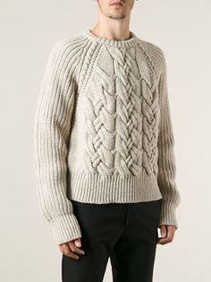 Cerruti 1881 cable knit sweater