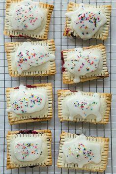 Homemade berry Pop Tarts.
