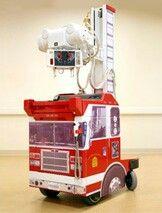 Ambientacion de equipos de rayos x portátil para pediatría