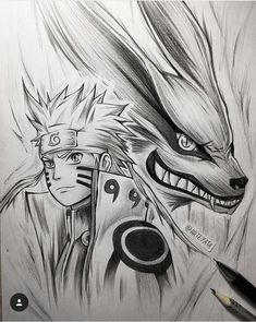 Modo Kurama, Anime Tattoos, Naruto Tattoo, Kakashi Drawing, Naruto Drawings, Naruto Sketch Drawing, Anime Sketch, Arte Naruto, Naruto Y Sasuke