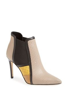 9b080e876cf Moero Perforated Colorblock Bootie available at  Nordstrom~ Color