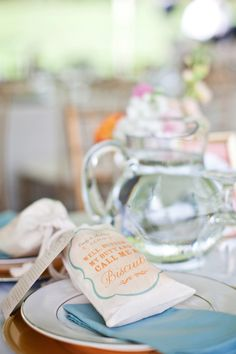 biscuit bag detail | favors by Lucky & Lovely, photography by CWF Photography
