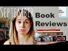 Reading Wrap Up   September 2015 #ManBookerVloggers