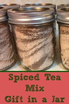Spiced Tea Mix - Gift in a Jar
