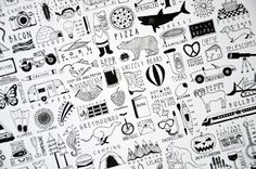 Things That Are Awesome Poster (via Funnelcloud on Etsy) -- Make my own larger version of awesome things?