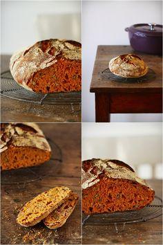 pain  facile sans pétrissage (Christine) cuisson cocotte
