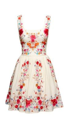 Beautiful Floral Dress For Spring