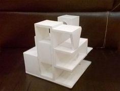 Projeto Arquitetônico Espaço e Forma - Maquete Malha