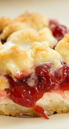 Cream Cheese Cherry Pie Crumb Bars