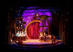 Paint Your Wagon. Seattle's 5th Avenue Theatre. Scenic design by Jason Sherwood.