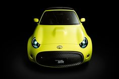 Products we like / Toyota / Yellow / toyota targets new drivers with S-FR sports car concept
