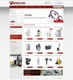 Ev Gereçleri website design
