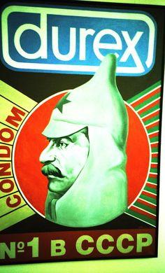 condom man.