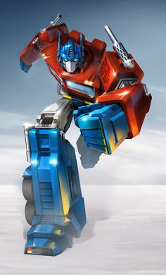 This is a cool image of Optimus Prime done by Gregory Titus, Painted by Anthony Feliciano.  This and more can be found at http://www.gregorytitus.com/transformers-age-of-extinction/