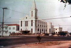 Igreja de Santa Rita, em Cachoeirinha. Outubro de 1982. Manaus. Acervo: Moacir Andrade.