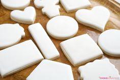 Hard Cookie Icing, Sugar Cookie Icing, Soft Sugar Cookies, Yummy Cookies, Owl Cookies, Angel Cookies, Onesie Cookies, Iced Cookies, Cake Icing