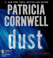 Dust by Patricia Cornwell. Read by Kate Reading. The body of a young woman has been discovered on the MIT rugby field. The victim is oddly draped in ivory linen and posed in a way that is too deliberate to be the killer's first strike. A preliminary examination also reveals a bizarre residue that fluoresces blood red, emerald green and sapphire blue. Physical evidence links the case to a series of uniquely weird homicides in Washington, D.C., where Scarpetta's FBI husband has been deployed.