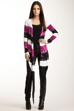 Tie-Dye Long Sleeve Wrap on HauteLook