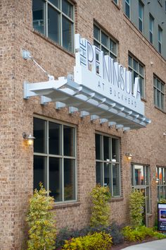 Peninsula at Buckhead   Residential Signs   Mixed Use Signs   DeNyse Companies