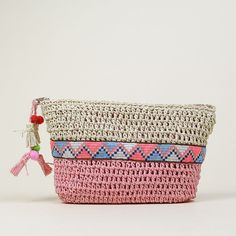 ☆  ULANKA Crochet Wallet, Diy Crochet Bag, Love Crochet, Knit Crochet, Crochet Handbags, Crochet Purses, Diy Bags Purses, Tapestry Bag, Crochet Cross