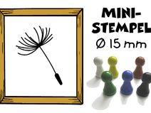 Ministempel Stempel  Pusteblume 15 mm