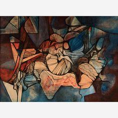 Obra de Burle Marx no leilão 14 de Abril de 2015 da Bolsa de Arte