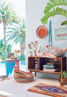 Shabby Chic Home Decor Mobile Home Renovations, Boho Beach Style, Ethnic Design, Boho Stil, Amazing Spaces, Estilo Boho, Love Home, Shabby Chic Homes, Beautiful Interiors