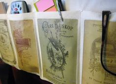 Easy Organizer Project: Cabinet Cards and Napkins