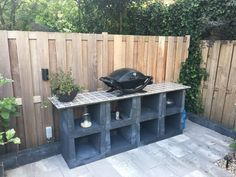 Buy U-elements Payments in the Netherlands - U-elements – Betondingen.nl® U-elements – Betondingen.nl® U-elements – Betondingen. Outdoor Kitchen Patio, Outdoor Kitchen Design, Outdoor Spaces, Outdoor Kitchens, Backyard Camping, Backyard Sheds, Piazza San Marco, Deck Decorating, Garden Accessories