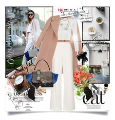 """""""Walking In A Posh Way.........................................xx"""" by mariloo ❤ liked on Polyvore featuring Rochas, Barneys New York, Topshop, WearAll, Chanel, CÉLINE, Kate Spade, Karen Walker and Dolce&Gabbana"""