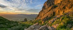 Phoenix is one of the very best cities in the country for hiking with tons of trails that are easily accessible from the metropolitan area.