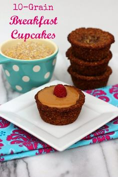 Me and My Pink Mixer: 10-Grain Healthy Breakfast Cupcakes