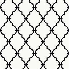 Modern Trellis in Abstract Geometric Lines YS9100