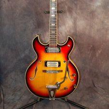 Conrad Trini Lopez Style Hollow body Electric Pro Setup Gigbag 1960's Sunburst.. Give us a call. Lawman Guitars..515-864-6136